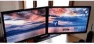 电脑双屏双任务栏软件-一台电脑双屏显示器-电脑双屏设置