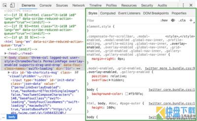 chrome浏览器[Chrome开发者工具]使用教程之Elements(元素面板)