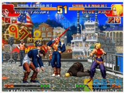 街机拳皇97草薙京打死大蛇后还要打一次八神,打完八神后的对话啥意思?