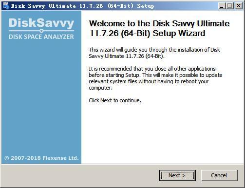 硬盘空间分析工具(Disk Savvy Ultimate) v11.7.26免费版
