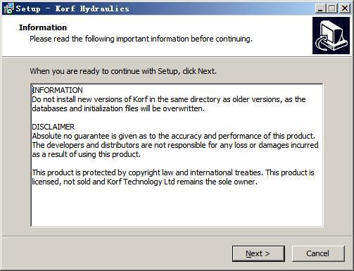 Korf Hydraulics(管道流速和压力计算软件) v3.5免费版