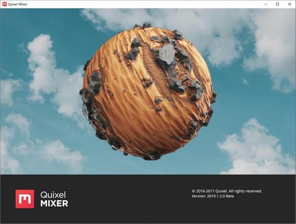 Quixel Mixer 2019(三维材料创建软件)