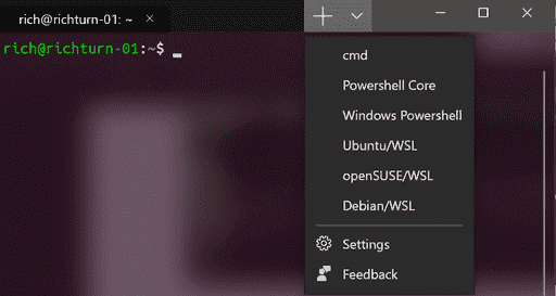 Windows Terminal软件截图