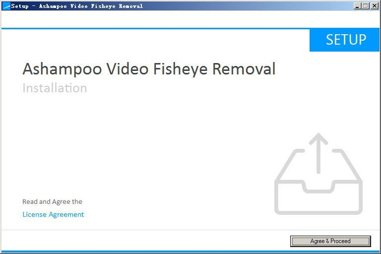 Ashampoo Video Fisheye Removal(鱼眼镜头轿正软件) v1.0.0免费版