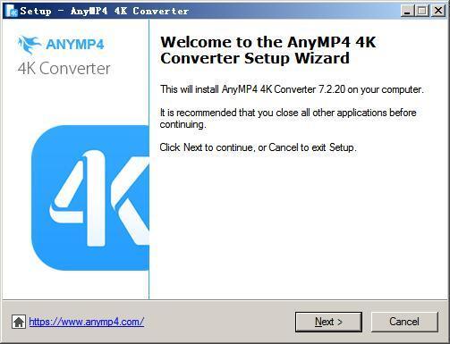 AnyMP4 4K Converter(4k视频转换器) v7.2.20免费版
