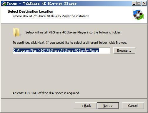 7thShare 4K Blu-ray Player(4k蓝光视频播放器) v1.3.14 免费版