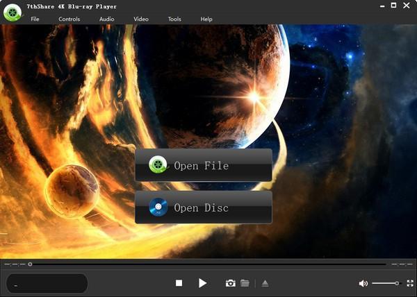 7thShare 4K Blu-ray Player