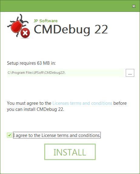 JP Software CMDebug(代码调试工具) v25.00.15免费版