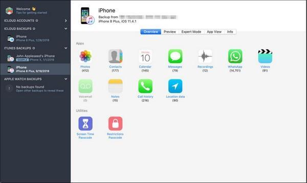 Reincubate iPhone Backup Extractor(备份提取软件)