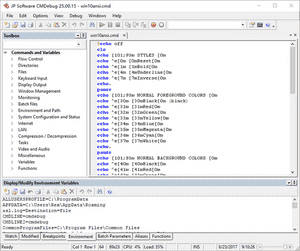 JP Software CMDebug(编程处理调试器)