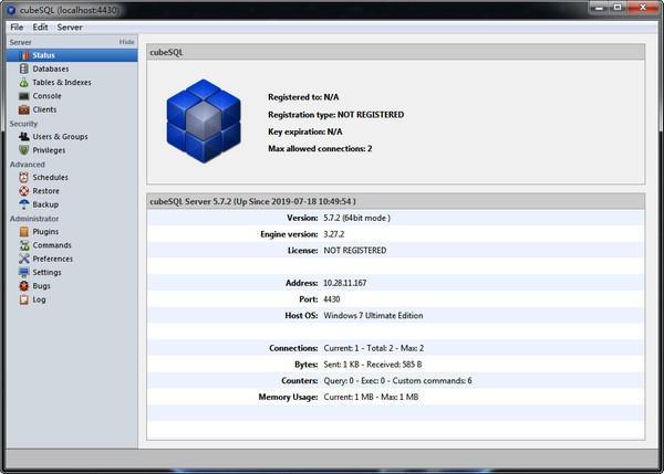 cubeSQL(数据库管理系统)