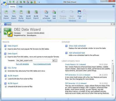DB2数据数据库管理工具(DB2 Data Wizard) v16.2.0.5免费版