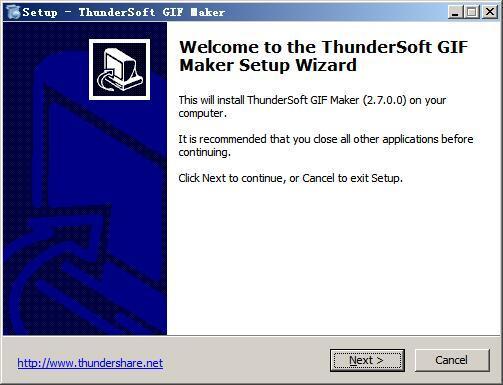 ThunderSoft GIF Maker(gif动画制作软件) v2.7.0免费版