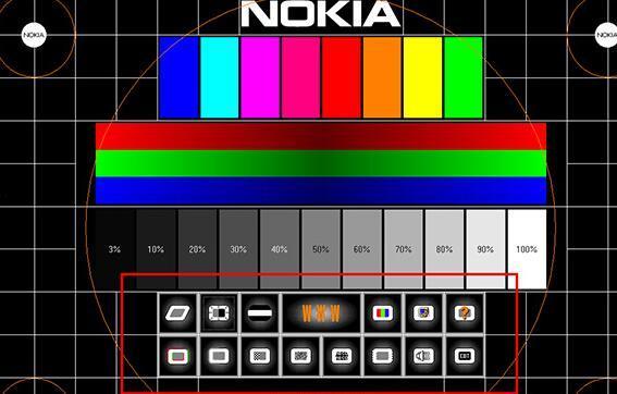Nokia Monitor Test(显示器测试软件) v2.0绿色汉化版