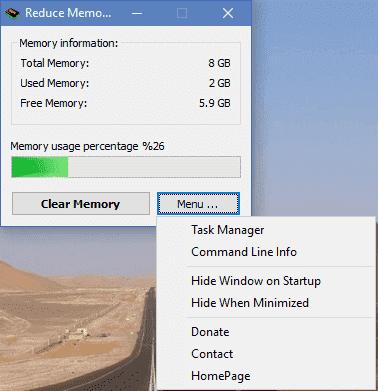 Reduce Memory(内存整理工具)