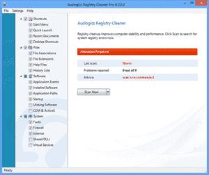 Auslogics Registry Cleaner Pro(系统注册表清理工具)