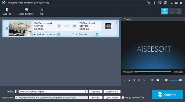 Aiseesoft Video Enhancer破解版下载