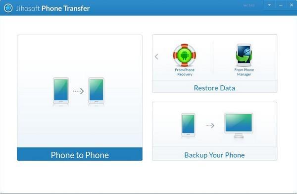Jihosoft Phone Transfer(手机数据传输工具)