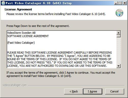 Fast Video Cataloger(视频管理软件) v6.10免费版