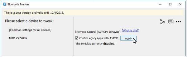 Bluetooth Tweaker32位破解版下载