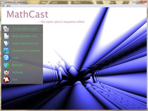 MathCast(数学公式编辑软件) v0.92官方版