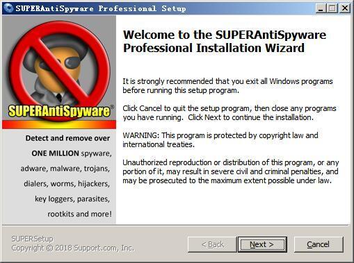 SUPERAntiSpyware Professional(木马查杀软件) v8.0.1044