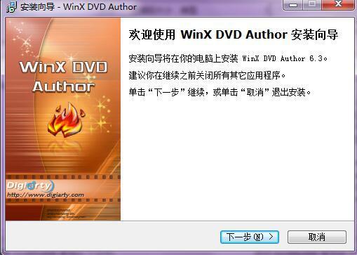 WinX DVD Author(DVD转换和刻录工具) v6.3.0免费版