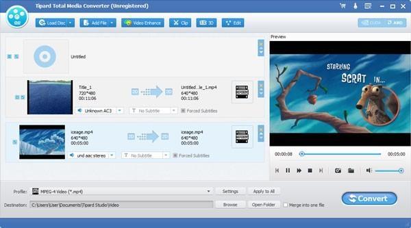 Tipard Total Media Converter(视频格式转换)