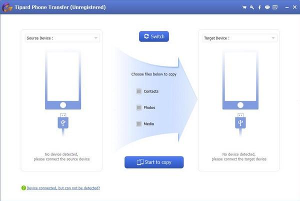Tipard Phone Transfer(手机数据传输工具)
