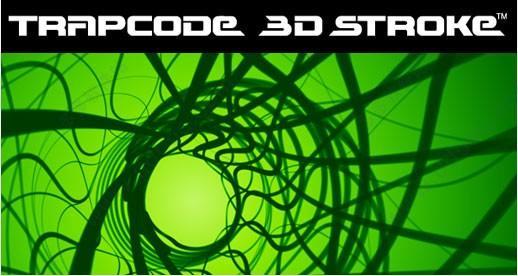 Trapcode 3D Stroke(AE描边插件)