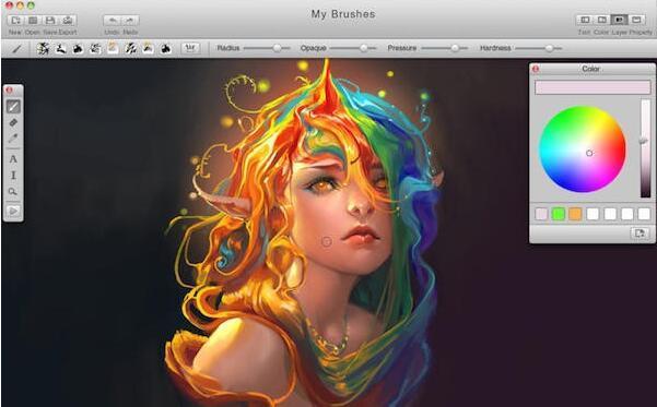 Mybrushes For Mac(绘画软件) v2.1.6
