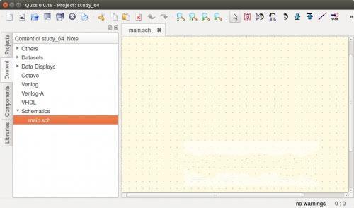 电路模拟器电脑版(Qucs) v0.019官方pc版