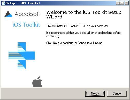 Apeaksoft iOS Toolkit免费版下载