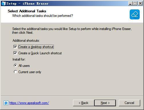 Apeaksoft iPhone Eraser(iphone数据清除软件) v1.0.12免费版