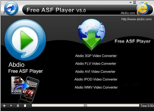asf播放器(Free ASF Player) v5.0官方版