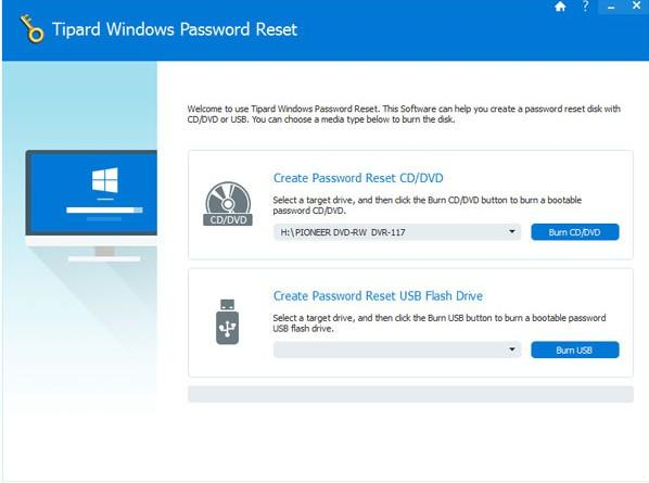 Tipard Windows Password Reset(密码重置软件)