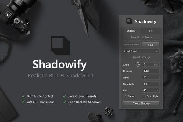 Shadowify(PS投影插件)