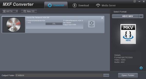 Dimo MXF Converter免费版下载