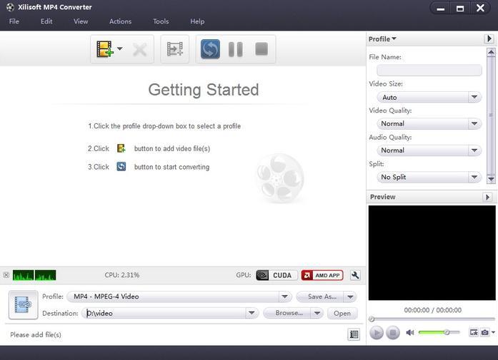 Xilisoft MP4 Converter中文版下载