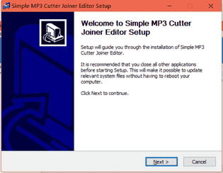 Simple MP3 Cutter