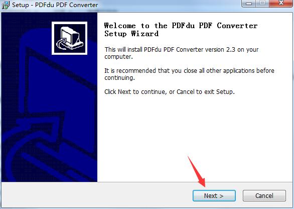 PDFdu PDF ConverterPDF文档格式转换工具下载 v2.3.0.0最新免费版