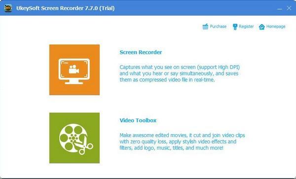 UkeySoft Screen Recorder免费版下载