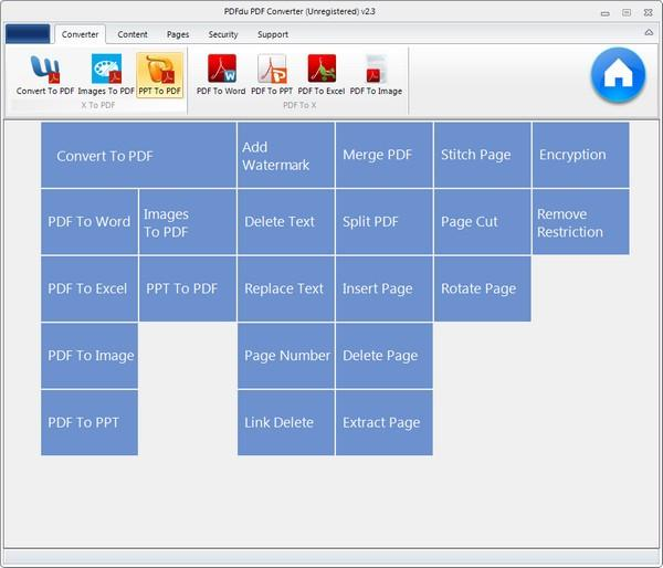 PDFdu PDF Converter免费版下载