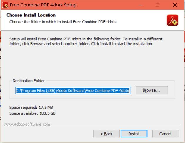 Free Combine PDF 4dots