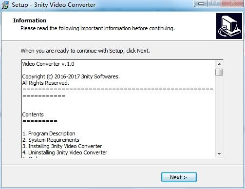 3nity Video Converter免费版