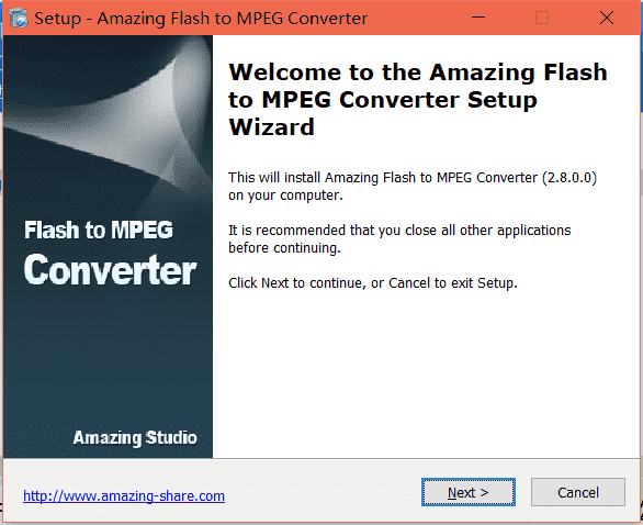 Amazing Flash to MPEG Converter Flash免费版下载
