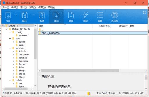 DBErp进销存系统下载 v1.0绿色免费版