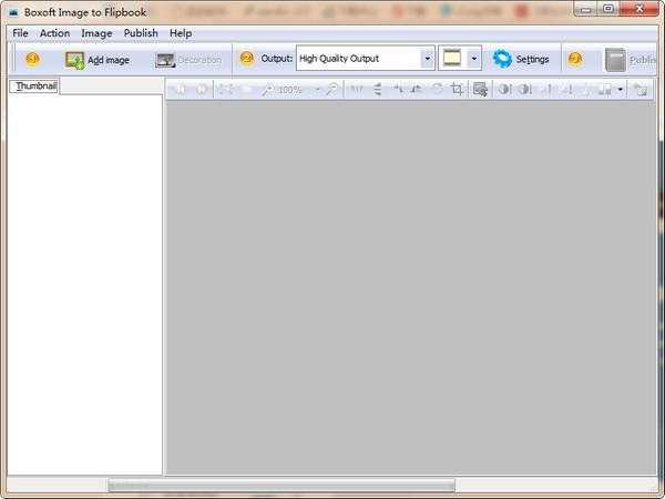 Boxoft Image to Flipbook免费版下载
