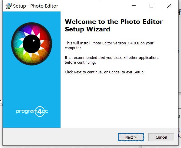 Program4Pc Photo Editor中文版下载