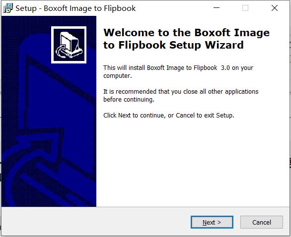 Boxoft Image to Flipbook